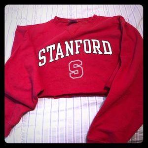 Tops - Cropped Standford sweatshirt!